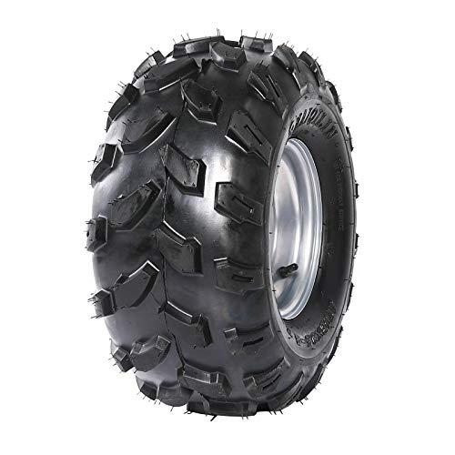 Fuerduo 1PCS 18x9.5-8 Tubeless Wheel Tire with Rim for 150cc 160cc 200cc ATV Quad Pit Dirt Bike Buggy