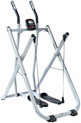 Crosstrainer/Nordic Walker de SportPlus con ordenador de entrenamiento, peso de usuario hasta...