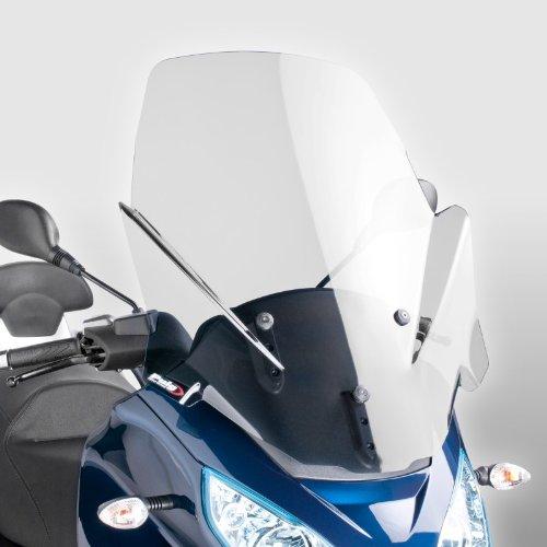 Windschild Puig V-Tech Line für Piaggio MP3 Sport 300/LT 11-16 klar, 720mm x 620mm
