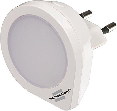 2er Set Brennenstuhl LED-Nachtlicht NL 01 QS mit Schalter 1 LED 1,5lm, 1173190
