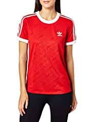Adidas Femme 3-Stripes Camiseta de Manga Corta para Mujer