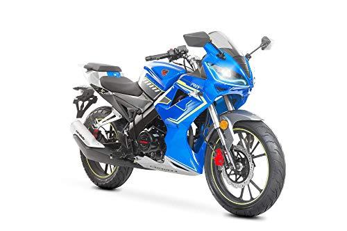Moto Carabela R8S 250 Modelo 2020 Azul
