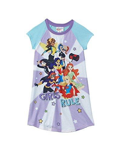 DC Superhero Big Girls  Big Girls  Nightgown - Blue Multi, 10