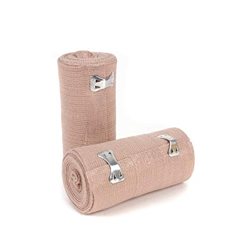 Ever Ready First Aid 4quot Elastic Bandage with Clips  Box of 10