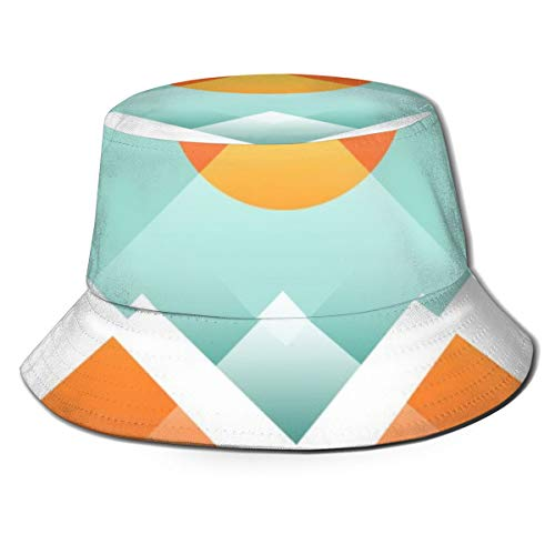 Nonebrand Everest DK Unisex Fischerhut, UV-Schutz, wendbar, für Outdoor, Camping, Angeln, Regen, Safari, Boonie