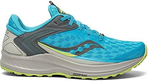 Saucony Canyon TR 02 Zapatillas de Trail Running para Mujer Celeste 41 EU
