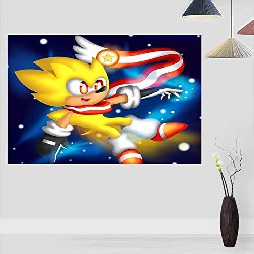 Puzzle 1000 Piezas Regalo de Imagen de película de Erizo de Arte en Juguetes y Juegos Gran Ocio vacacional, Juegos interactivos familiares50x75cm(20x30inch)
