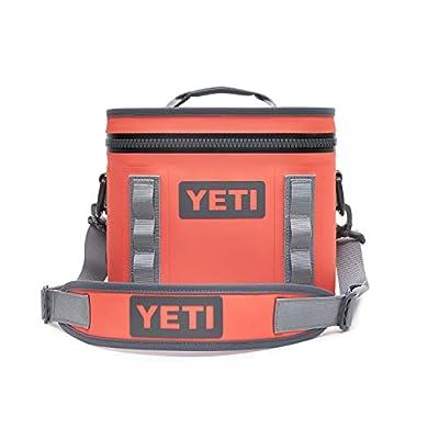 YETI Hopper Flip 8 Portable Cooler, Coral