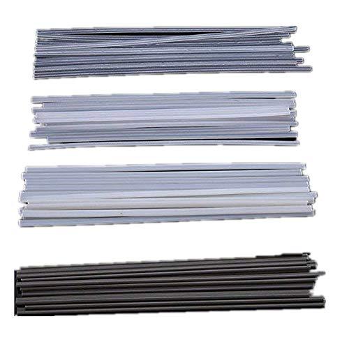 Beho-50PCSプラスチック溶接棒ABS / PP/PVC / PE溶接プラスチック溶接の200ミリメートル