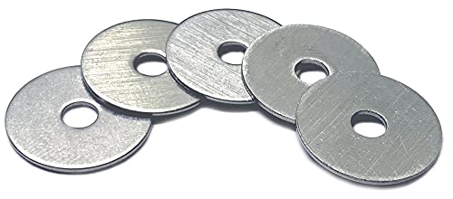 Type 18-8 Stainless Steel Fender Washers Size #6 x 5/8