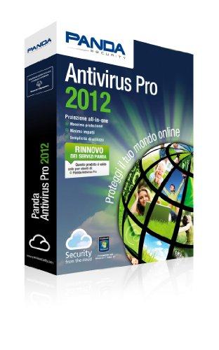 Panda Antivirus Pro 2012 - Rinnovo Retail Minibox - 1 Licenza 12 mesi