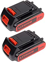 VANON 2.5Ah 20V 50Wh Lithium-Ion Replacement Battery for Black and Decker LBXR20 LBXR20-OPE LB20 LBX20 LBX4020 LB2X4020-OPE Cordless Power Tools