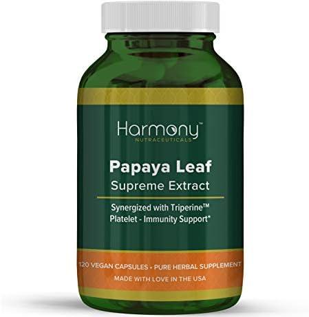 Papaya Leaf Supreme Extract Highest Potency Maximum Bioactivity Organic Dr Gumman s Harmony product image