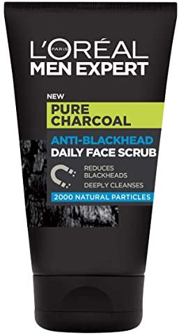 L'Oreal Men Expert Pure Carbon Anti-Blackhead Deep Cleansing Daily Face Scrub 100 ml