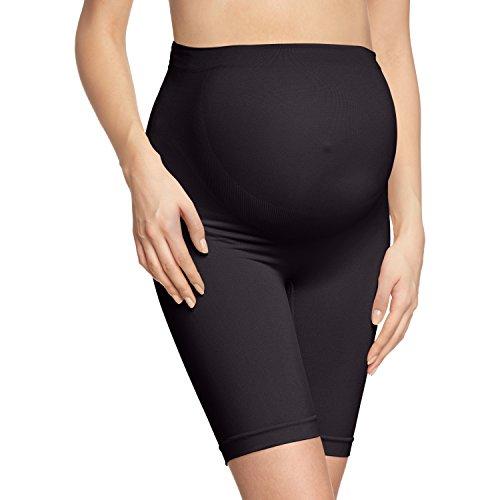 Noppies Kids Seamless shorts long - Ropa interior para mujer, Negro (Black C270), XL/XXL