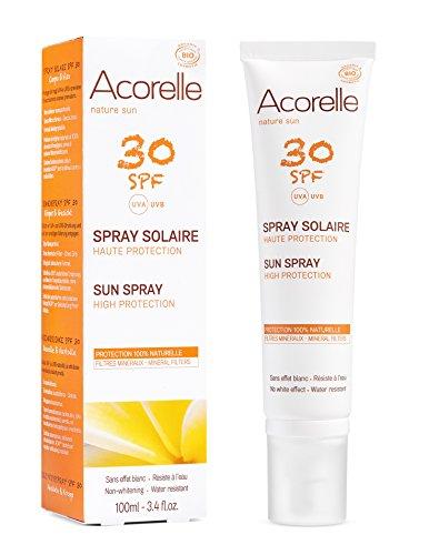 ACORELLE Spray Solaire Haute Protection SPF 30 - 100ml