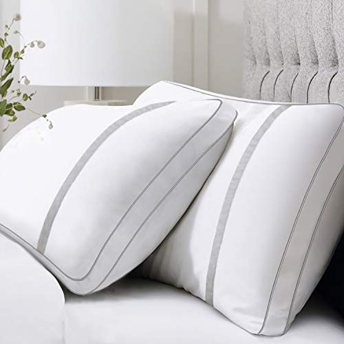 BedStory 2 Pack Sleeping Pillows, Bed Pillows Down Alternative Hypoallergenic
