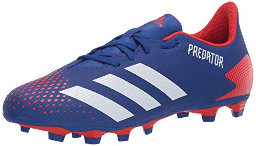 adidas Men's Predator 20.4 FxG Football Shoe, Team Royal Blue/FTWR White/Active Red, 9 M US