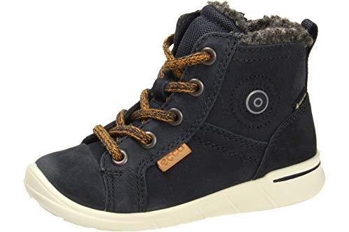 ECCO Baby Jungen FIRST Sneaker Klassische Stiefel Mid-cut Boot, Blau (Nght Sky 1303), 24 EU