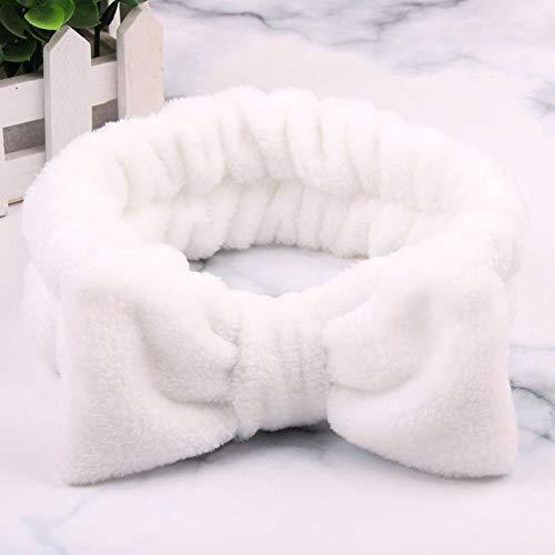 Best Quality - Women's Hair Accessories - new letter omg coral fleece soft bow headbands wash face headband women girls holder turban hairbands hair a