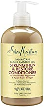 Shea Moisture Jamaican Black Castor Oil Strengthen & Restore Conditioner, 13 Oz (Pack of 1)