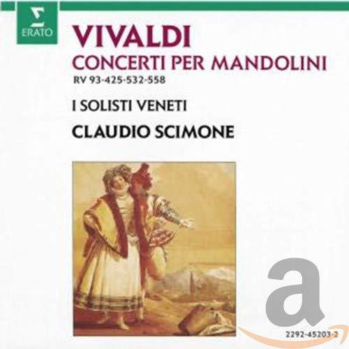 Concerti Per Mandolini -Scimone-
