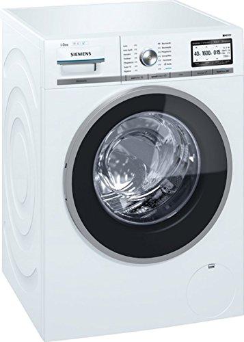 Siemens iQ800 WM6YH841 Libera installazione Carica frontale 8kg 1600Giri/min A+++ Bianco lavatrice