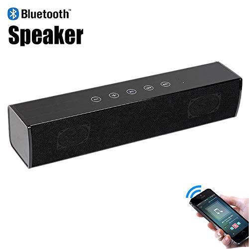 Speaker-EJOYDUTY Bluetooth 5.0 Echter Hallo-Fi-Wireless-Lautsprecher, beweglich 30W Musik Subwoofer, Unterstützung für die Fernbedienung, RCA, Heim-PC, Computer, Party im Freien