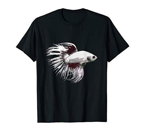 Kampffisch Crowntail I Aquarium Kampffische betta splendens T-Shirt