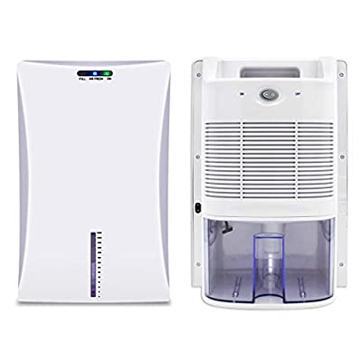 LVYUAN Upgraded Dehumidifier for Home, Dehumidifiers for High Humidity in Basements Bedroom Closet Bathroom Kitchen Small Quiet Portable Electric Small Dehumidifiers with 2000ml (68oz) Water Tank from
