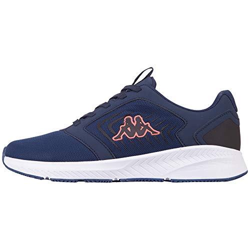 Kappa PALCA Unisex, Zapatillas para Correr de Carretera Adulto, 6729 Azul Marino Coral, 40 EU