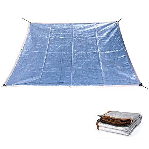 WXZX Toldo Vela Rectángulo 2 X 5 M Protección Anti-UV 99%, Plata Resistente Al Desgaste Toldos Terrazas, Transpirable Toldos Camping, Reflectante, Aislamiento Térmico, Sin Absorción De Calor