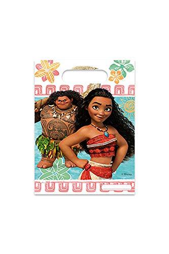 Disney 49773 Vaiana Moana SEMO2002 Partytüten aus Kunststoff