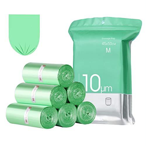 Bolsas Basura 15-20L,Extra Resistentes Bolsa de Basura Pequeñas,Bolsas Liners para Residuos de Cocina(4x30 bolsas)