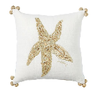 Lilly Pulitzer Seeing Stars Embroidered Reversible Pillow | Pottery Barn