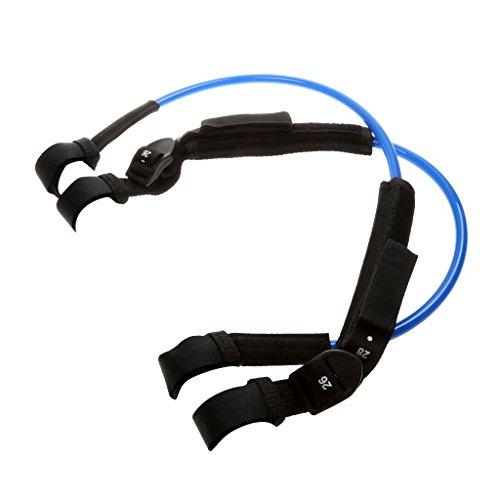 Unbekannt Verstellbar Windsurf Trapeztampen Harness Line Hüfttrapez Trapez Surftrapez - Blau, 22-28 Zoll
