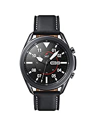 Image of Samsung Galaxy Watch 3 (45mm, GPS, Bluetooth) Smart Watch with Advanced Health monitoring, Fitness Tracking , and Long lasting Battery - Mystic Black (US Version): Bestviewsreviews