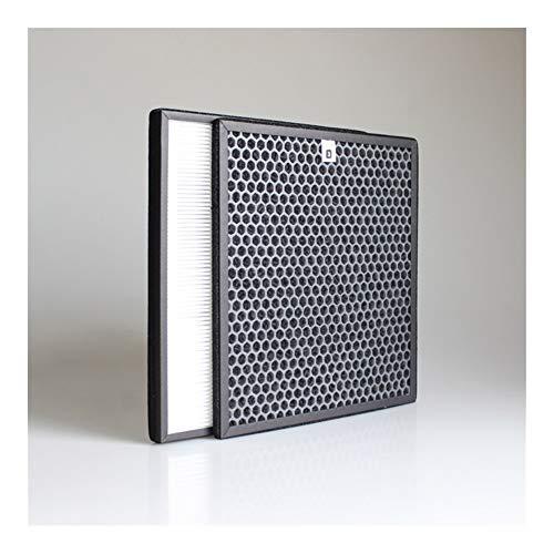 Filtro de repuesto para purificador de aire 2pcs / lot Kit de filtro de aire purificador de aire HEPA for Philips AC4002 AC4004 AC4012 purificador de aire de piezas AC4123 AC4124 + Filtro Juego de fil