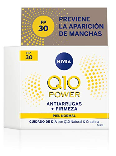 NIVEA Q10 Power Antiarrugas Cuidado de Día Triple Defensa