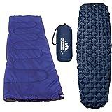 Outdoorsman Lab Ultralight Sleeping Pad and Lightweight Sleeping Bag