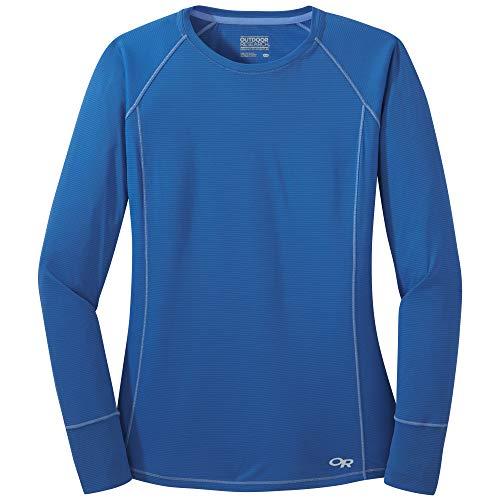 Outdoor Research Echo L/S T-Shirt de randonnée pour Femme, Femme, 269472, Bleu Lapis-Lazuli, XS