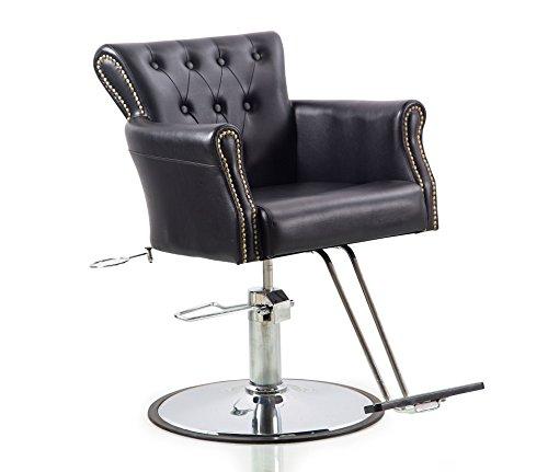 Shengyu Black Hydraulic Lash Chair