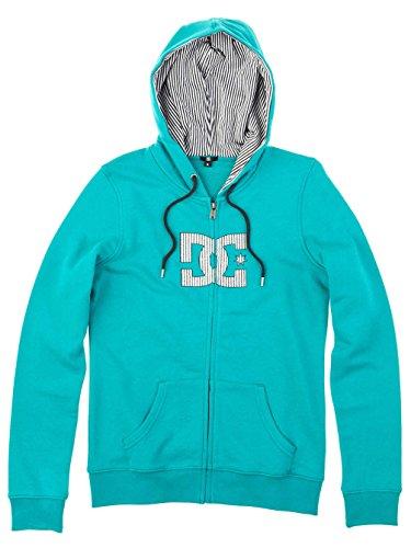 DC Shoes Futur SP Sudadera para Mujer Azul Verde Azulado Talla:Mediano