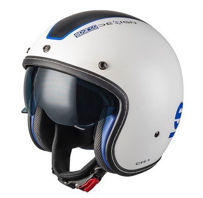 CASCO SPARCO CAFE RACER ABS TG XS BIAZ
