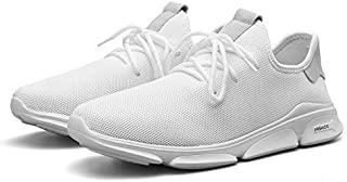 MEGPAR Men' S BADLAV Mesh White Running Sports Walking SUP Shoes