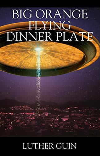 Big Orange Flying Dinner Plate