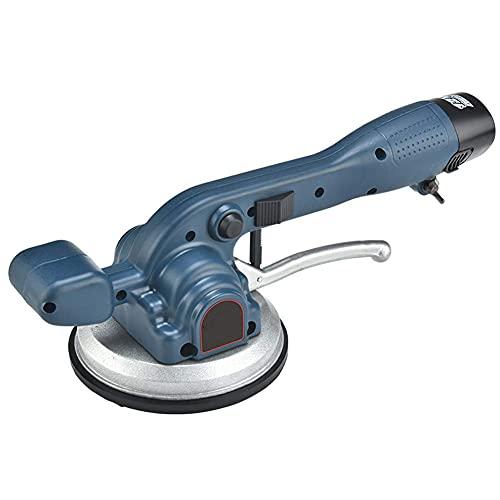 DGHJK Baldosa eléctrica para baldosas, Máquina vibratoria para baldosas, Máquina niveladora de Mano para baldosas y baldosas de Pared, Adsorción máxima de 100 kg, 2 x batería