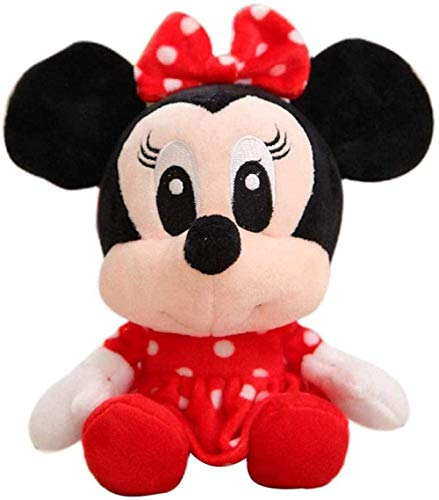 NC56 Disney Stuffed Plush Toy Cute Stuffed Animals Minnie Winnie The Pooh Mickey Mouse Keychain Backpack Decoration Children Toy Gift-17-23_cm_Minnie