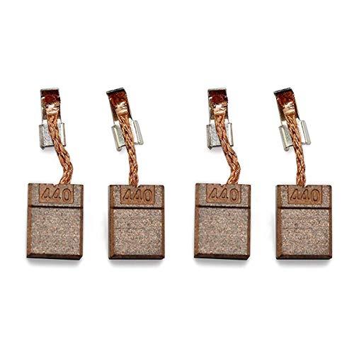 Konesky 4 piezas CB440 Makita Carbon Brushes, Carbon Brushes para taladro Makita CB-440 DF458Z DTD140 DTD146 DHP456 DHP458 / 482 DTW251 BHP451 BHP452, 13 x 10 x 3 mm