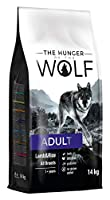 Free from poultry meat and wheat gluten - ideal food for dogs which have sensitive digestion or suffer from food allergies or skin problems. The real label - 200 g of lamb in 1 kg of food corresponds to 800 g of raw meat. In The Hunger of The Wolf do...
